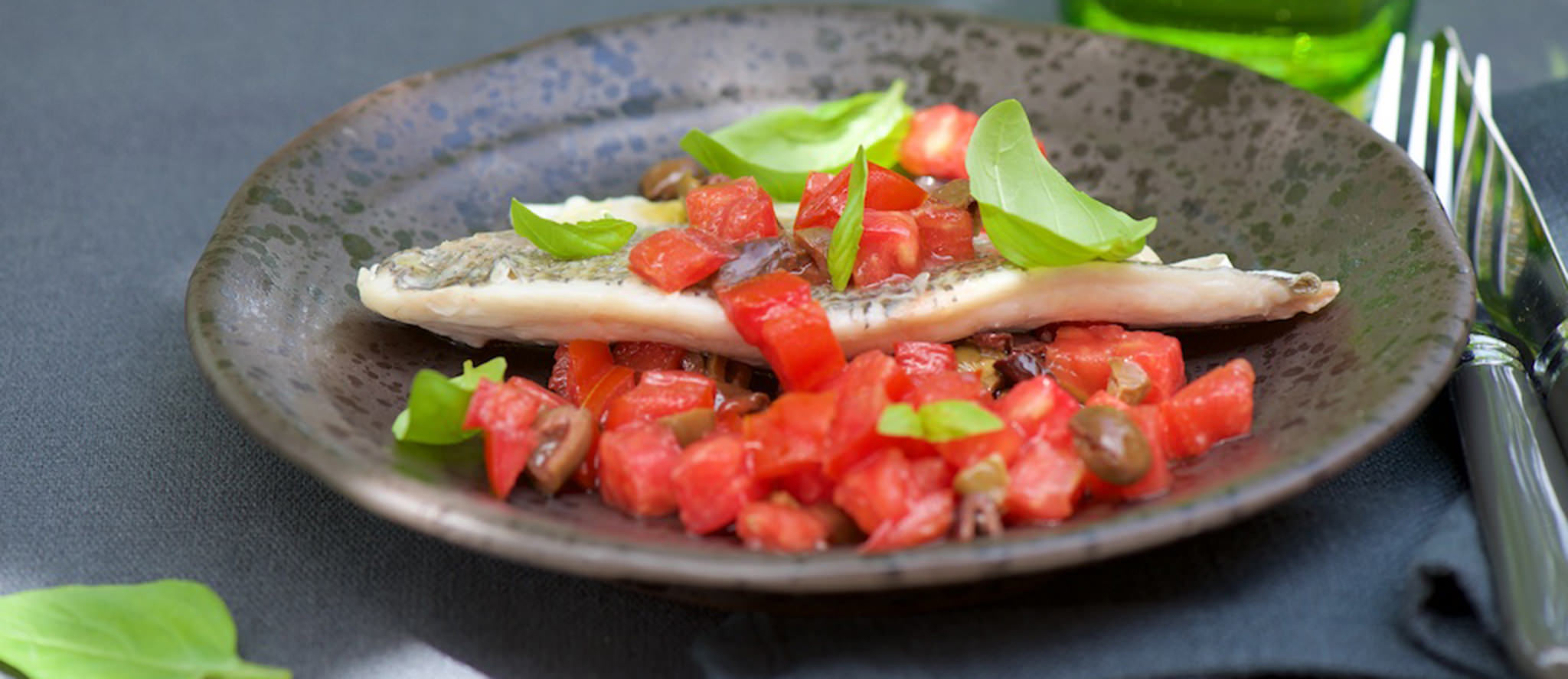 Dorade royale tomate bandeau