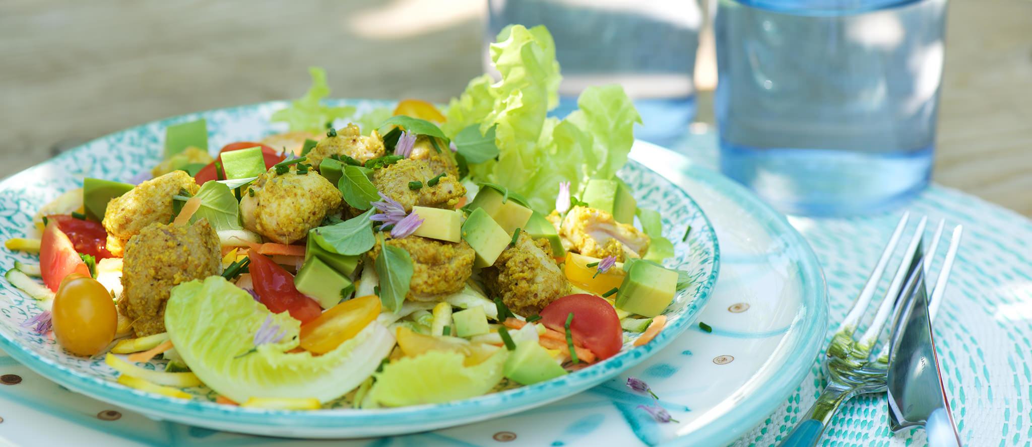 Salade de poulet bandeau