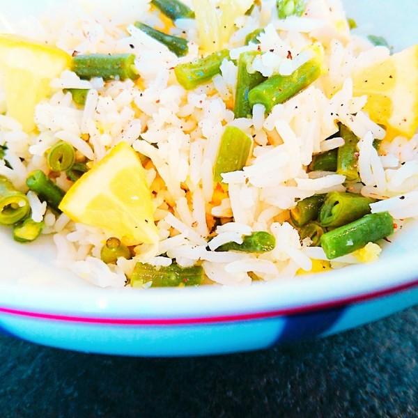 Salade de riz hyper le%cc%81ge%cc%80re