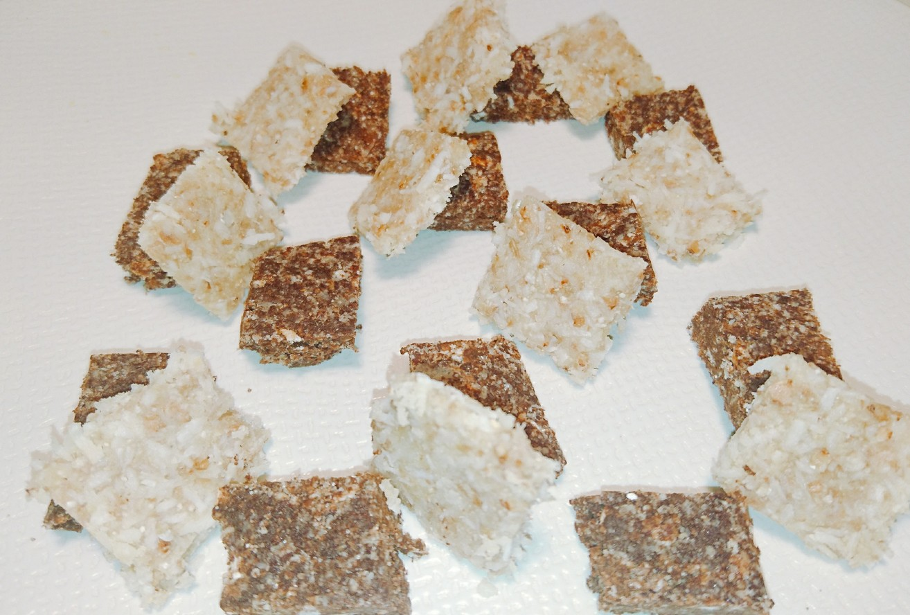 Raw chocolat noix de coco