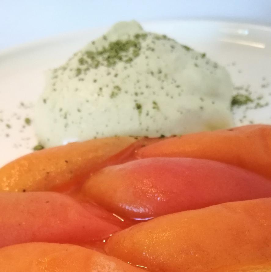 Abricot matcha