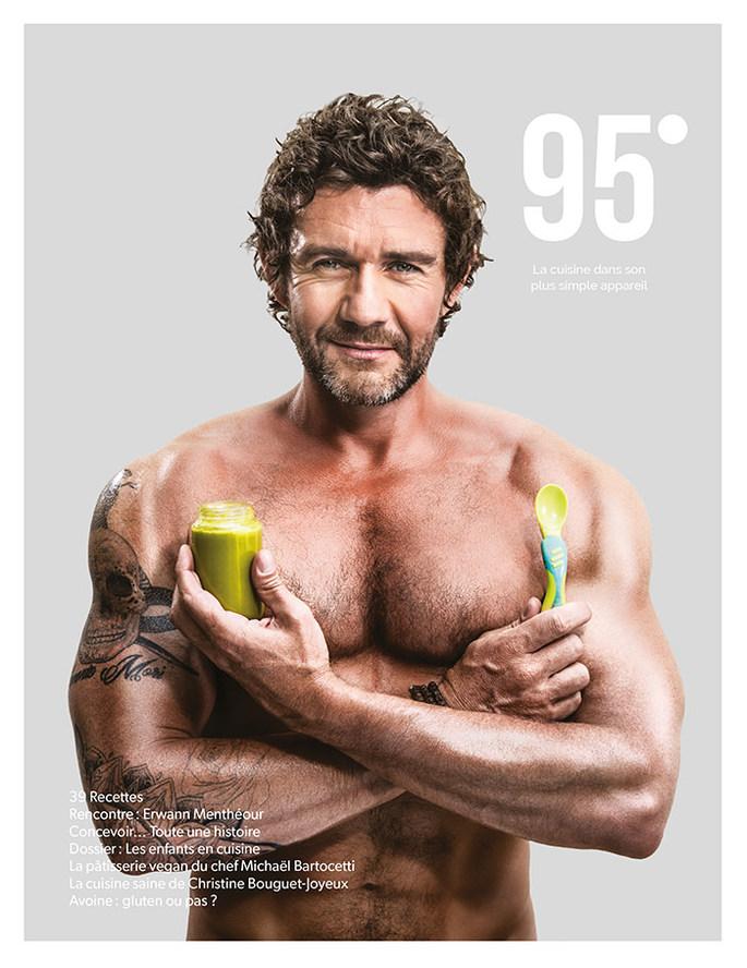 Erwann Mentheour magazine 95° 3