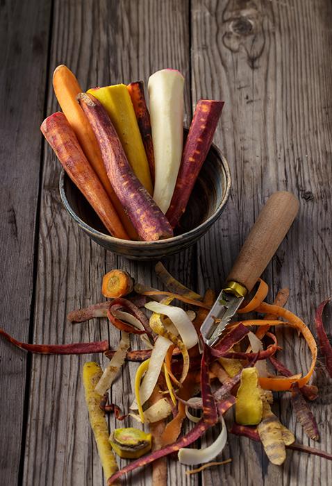 epluchures de legumes