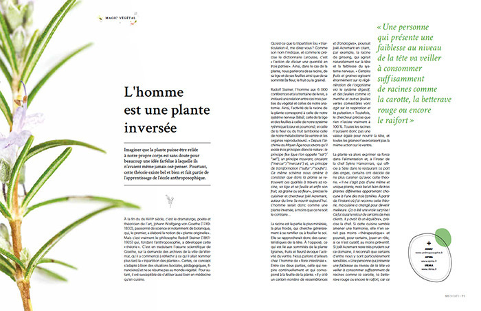 la tripartition des plantes