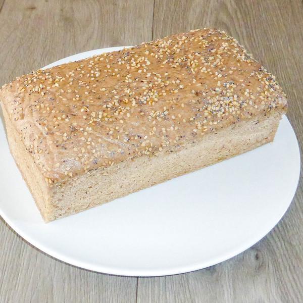 Pain au sarrasin sans gluten %281%29