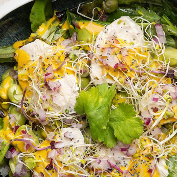 Salade poulet 970