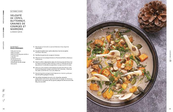 recette velouté champignons