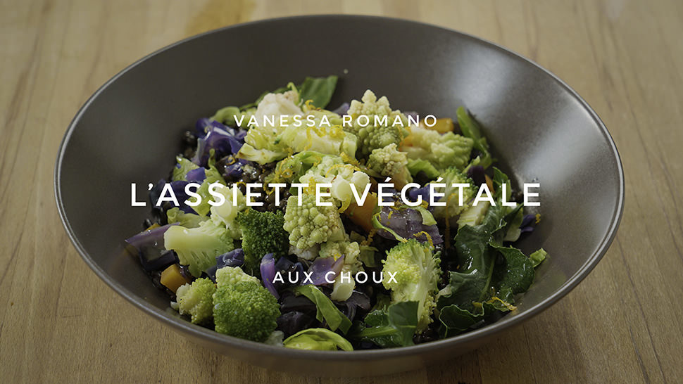 Assiette vegetale 95